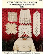 Award-Winning Designs in Hardanger Embroidery 1987 Meier Watnemo Pattern... - $5.37