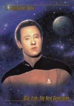 1993 Skybox Star Trek Master Series #12 Lt. Commander Data M/NM - $2.93