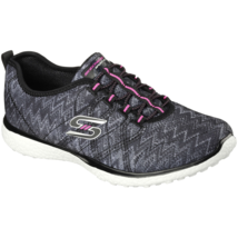 Women's Skechers Fluctuate Walking Shoe Black Size 8 #NG4EL-157 - $43.99