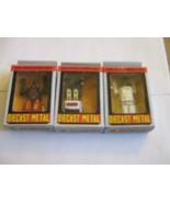 Mr-Machinerobo , Diecast Metal , PR-03 ,PR-04 , PR-02 , Lot of 3 , NIB - $59.31