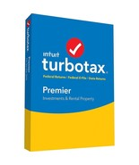 Intuit Turbotax Premier Investments & Rental Property - Federal State 20... - $25.25