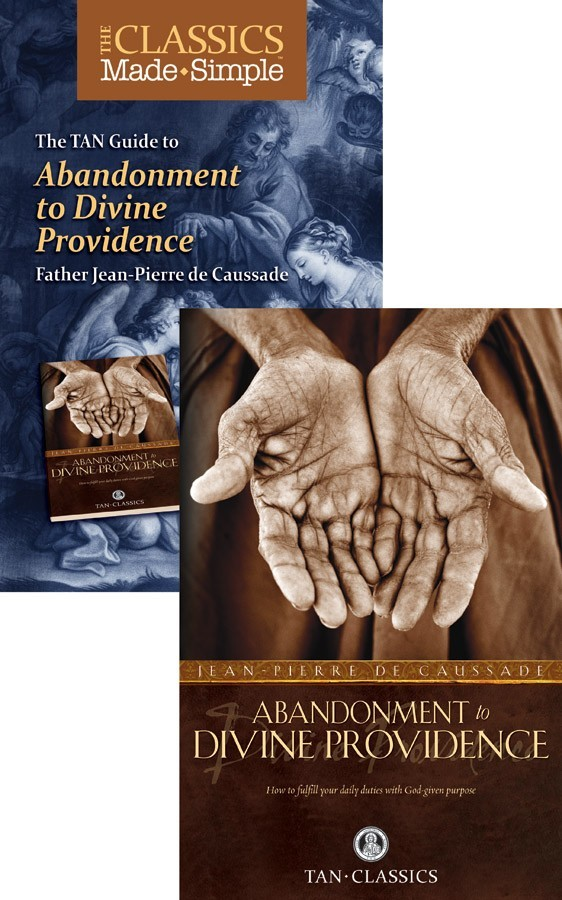 The classics made simple abandonment to divine providence  book   booklet set of 2