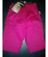NEW  Onsies Brand Infant Girls Pants/bottoms  -  Hot Pink Knit Size O-3 ... - $1.48