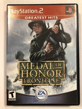 PlayStation2 Medal Of Honor Frontline, EA Games - $6.99