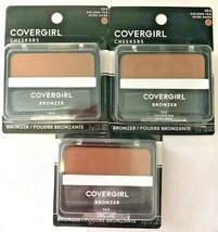 3 Covergirl Cheekers Bronzer 104 Golden Tan A Sun Kissed Glow 12 0z - $19.79