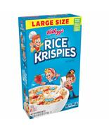 Kellogg's Rice Krispies, Breakfast Cereal, Original, Large Size, 18 Oz - $6.50