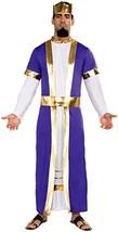 Forum Novelties Men's Biblical Times King Costume, Purple/Gold, Standard - $37.80