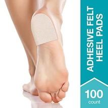 Steins Adhesive Felt Heel Pads, Helps Ease Pain Caused by Plantar Fasciitis, Ach