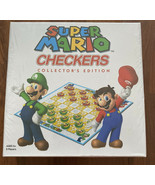 Super Mario Brothers Checkers Collector's Edition Board Game NEW Sealed ... - $11.29