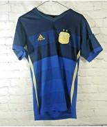 Argentina Soccer National Team Adidas Jersey AFA Home Men's Small - $29.69