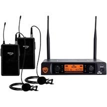 Bonanza  - Nady(R) DW-22-LT-ANY Dual-Transmitter Digital Wireless Microp... - $210.99