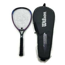 Wilson Sledge Hammer 3.8 Tennis Racket 110 Sq In. w/ Zipper Cover Grip 4... - $47.47