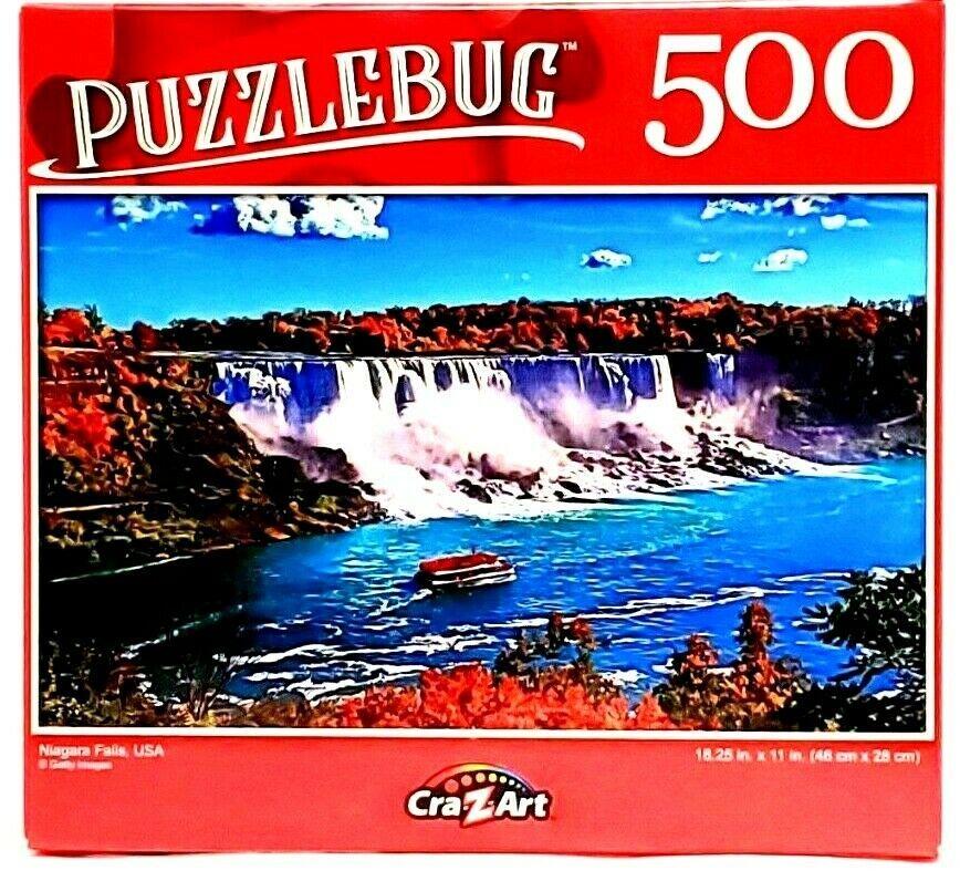 Puzzle by Cra Z Art Niagara Falls Puzzle Bug 500 Pieces