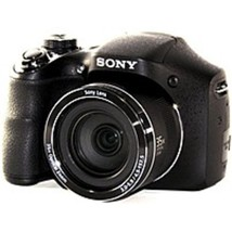 Sony Cyber-shot DSC-H300/B 20.1 Megapixels Digital Camera - 35x Optical/... - $187.36