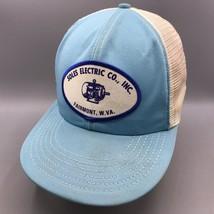 Vintage Soles Electric Patch Mesh Adjustable Snapback Trucker Hat Cap - $44.54