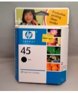 HP Inkjet Print Cartridge - Black - 45 Expired - $12.69