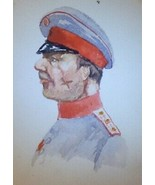 Military Card Otto Skorzeny SCARFACE in UNIFORM German Egypt Argentina I... - $155.00