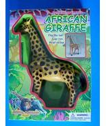 1999 Funmax Battery Operated AFRICAN GIRAFFE Flip Tail-Legs Run Head Sw... - $15.84