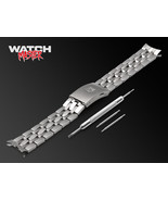 19mm 20mm For TISSOT Watch Metal Strap Band T-Sport PRC200 Silver L316 e... - $37.00