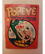 Popeye Ghost Ship to Treasure Island -Vintage Little Big Book 1967 Whitman - $7.25