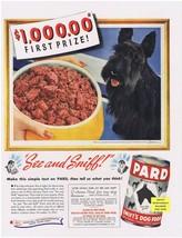 1941 PARD Scottie Dog Contest Print Ad - $9.99