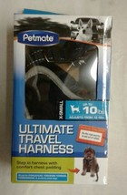 Petmate The Ultimate Travel Harness for Pets, Black, XS  - $9.42