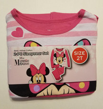 Disney Toddler Girls 2pc Pajama Set Minnie Mouse Sizes 2T NWT - $14.99
