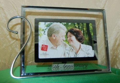 Russ 36752 Reflections of Love Photo Frame Twenty Fifth Anniversary