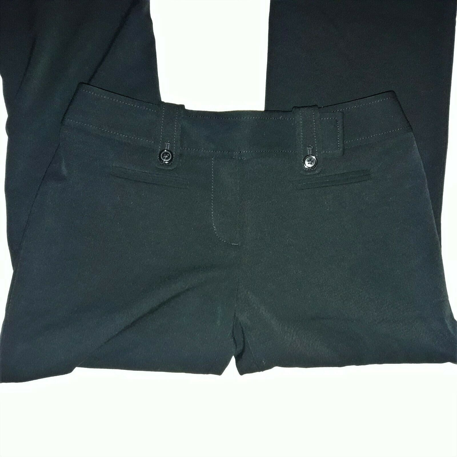 Women's Ann Taylor Factory Signature Dress Pants Size 0P Black Career image 3