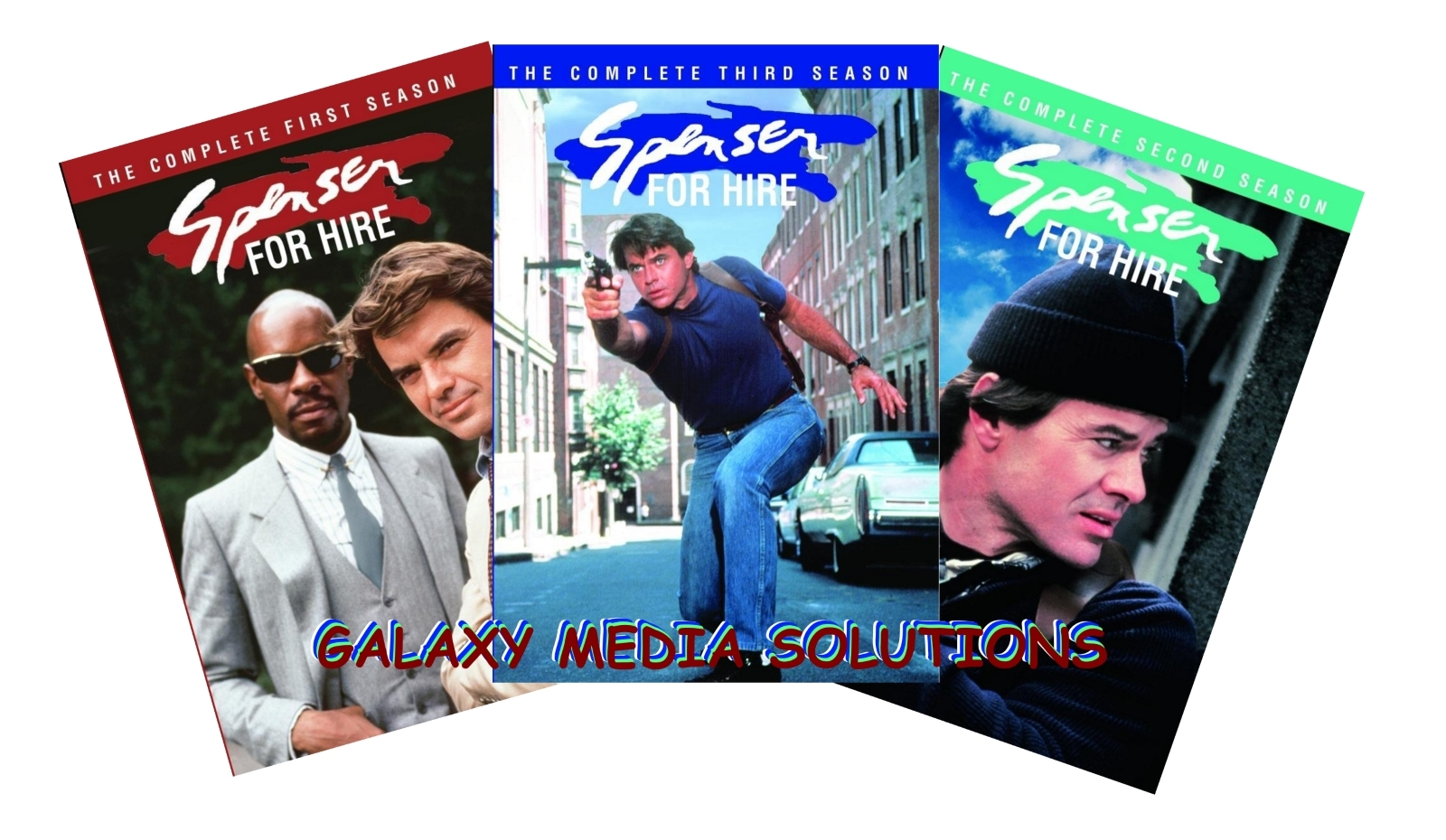 Spenser for hire season 1 3 one  three dvd bundle