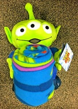"Disney Toy Story LGM Alien Hugger Set 40"" X 50"" Fleece Throw Blanket wit... - $43.98 CAD"