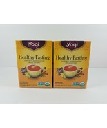 Yogi Healthy Fasting Tea Detox Dieting DISCONTINUED 2 Boxes Best Before ... - $21.99
