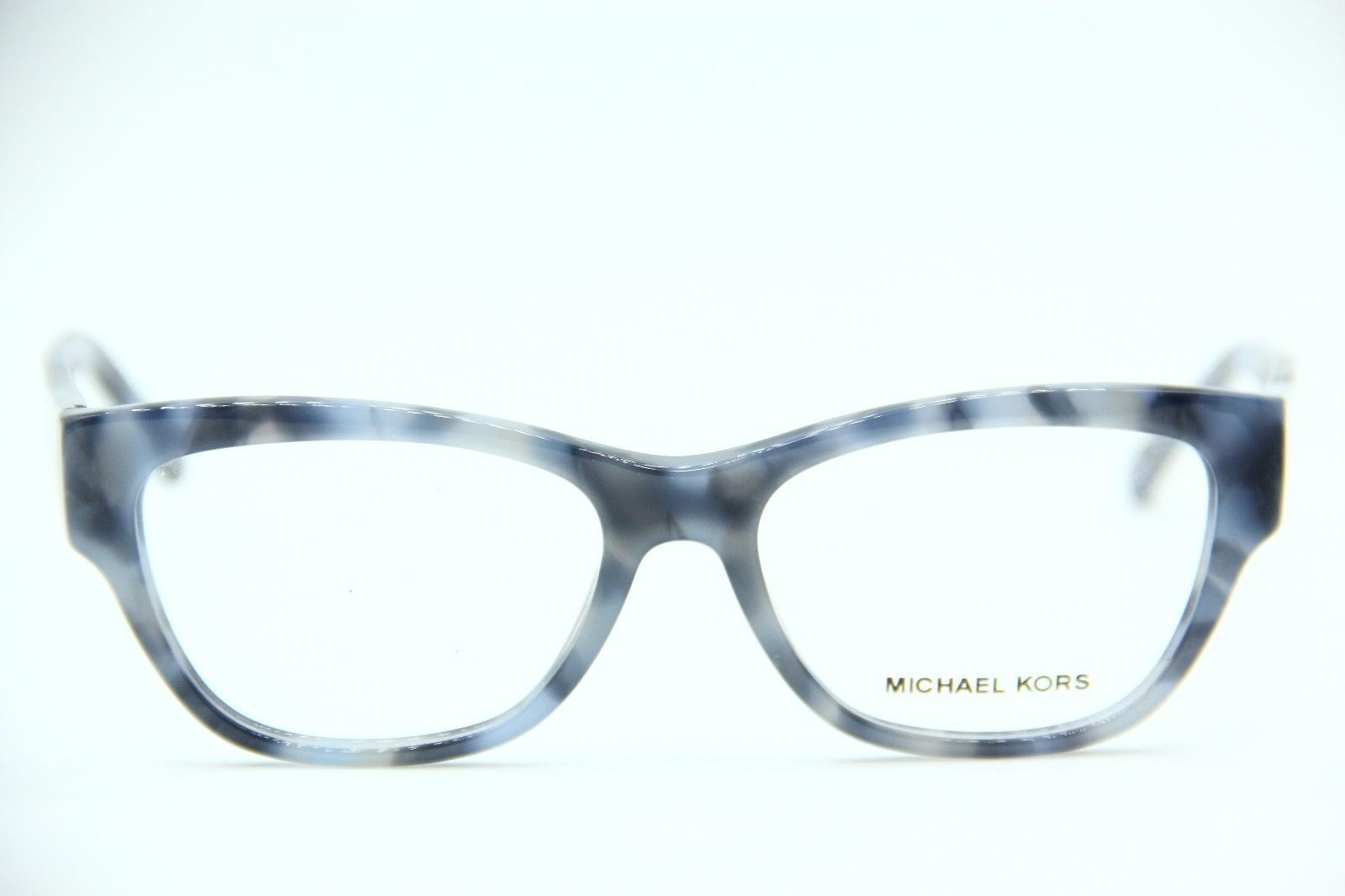 NEW MICHAEL KORS MK 4037 3209 BLUE EYEGLASSES AUTHENTIC RX MK4037 53-16