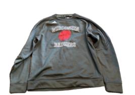 NWT Wisconsin Badgers adidas ClimaWarm Fleece Sideline Medium Crew Sweatshirt - $42.52