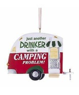 White and Red Trailer Ornament w - $17.99