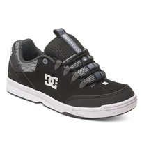 Mens Dc Syntax Skateboarding Shoes Nib Black Grey (Bgy) - $52.49