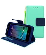 Alcatel Tru / Stellar / 5060 / POP 3 Leather Wallet Pouch Case Cover - $14.99