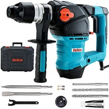 ENEACRO 1-1/4 Inch SDS-Plus 12.5 Amp Heavy Duty Rotary Hammer Drill, Saf... - $141.22