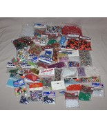 5+ Pounds Mixed Assorted Jewelry Making Crafting Beads Darice Westrim Fi... - $19.75