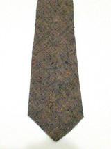 True Vintage Rooster Ruffler Collection 50/50 Silk Cotton Blend Skinny Tie - $26.99