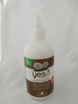 Yes To Coconut Body Lotion Ultra Light Spray 10 fl oz Brand New non greasy - $13.99