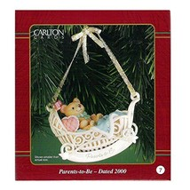 Carlton Cards Heirloom Parents-To-Be Ornament Dated 2000 #CXOR-014C - $17.99
