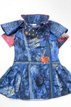 Disney Girls Descendants 2 Evie Blue Costume Dress Up Dress Zip Studded ... - $193,00 MXN