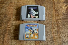 Star Wars Shadows Of The Empire + Rogue Squadron (Nintendo 64) Video Games - $21.28