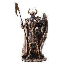 10.38 Inch King Loki Warrior with Dragon Resin Statue Figurine - $49.99