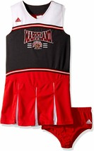 Maryland Terrapins Girl's adidas 2-pc Cheerleader Uniform Dress Outfit C... - $6.98