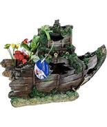 Pen Plax Sunken Gardens Shipwreck Bow, Large - $43.17