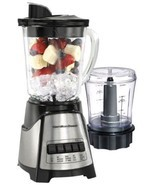 Hamilton Beach 58149 Blender Chopper Food Processor 2 Speed shakes ice d... - $46.52