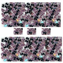 100 Rhinestones PINK Tiny new lots Arts Crafts BOWS - $3.30
