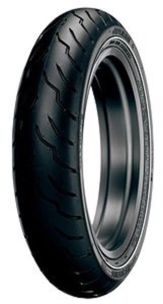 New Dunlop American Elite Narrow White Wall NW MT90B-16 Front Tire